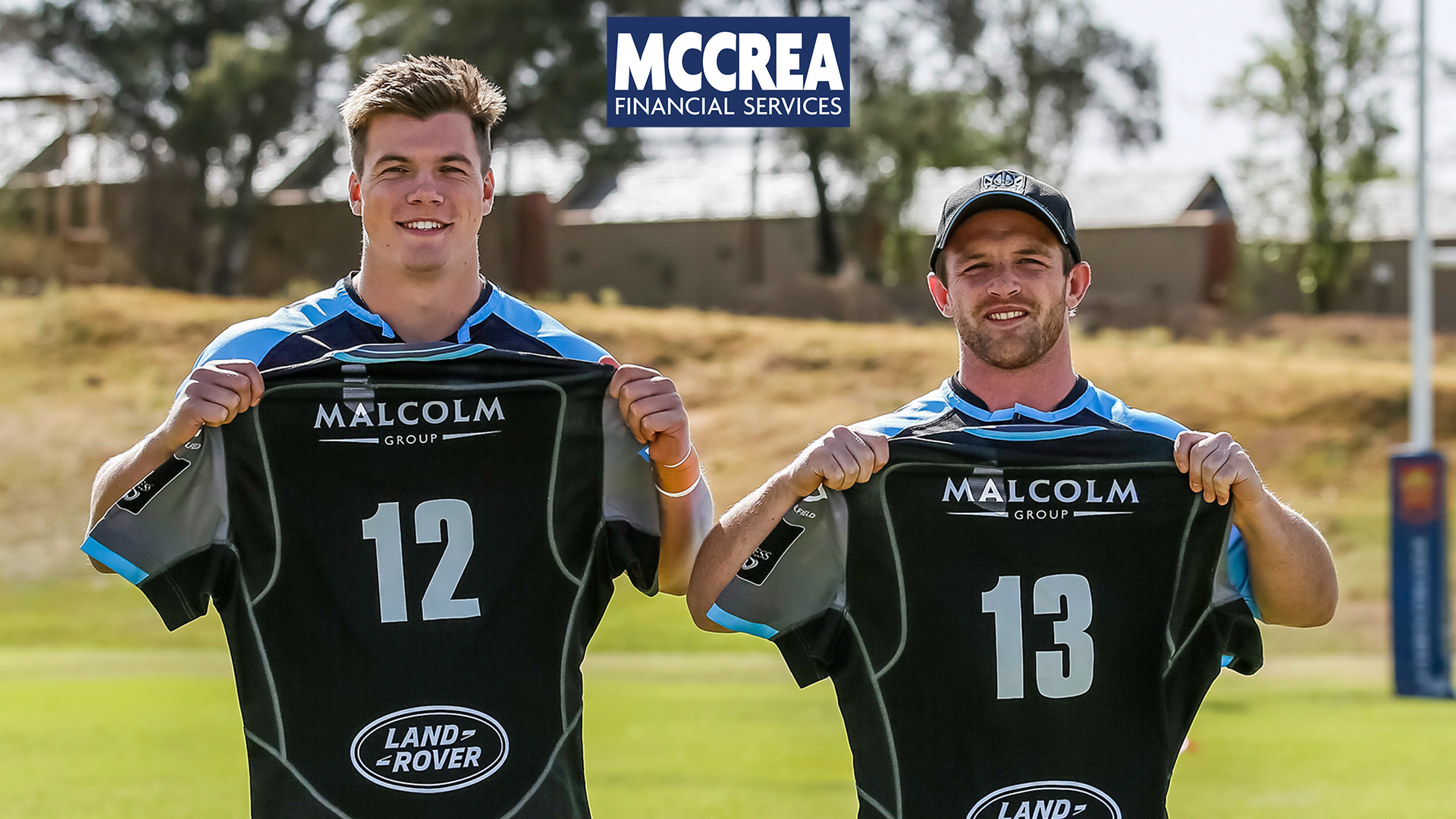 McCrea Financial Services agree a new two-year contract with Glasgow Warriors